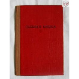 Členská knížka, Jednoty spotřebního a výrobního družstva v Borohrádku