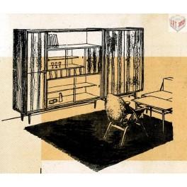 Obývací pokoj, O-51, 1961