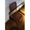 Trubková pružící židle B32