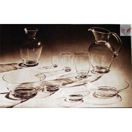 Souprava stolního skla, Ludvika Smrčková (dp)