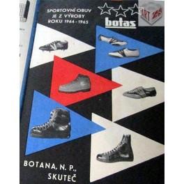 Reklamy na obuv 1964