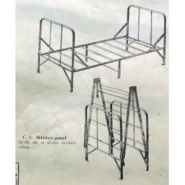 Postele, kavalce, dětské postýlky, Gottwald 1930