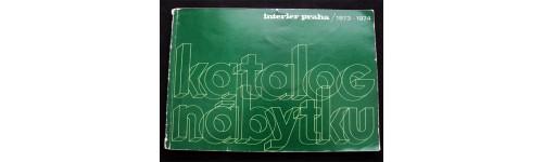 Interiér Praha 1973-1974, Katalog nábytku