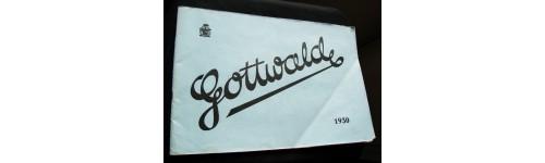 Gottwald 1930. Katalog železného nábytku.