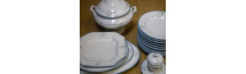 Typy porcelánového nádobí