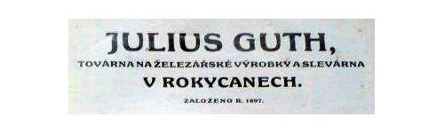 Julius Guth, továrna na železářské výrobky, Rokycany