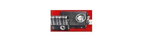 Akumulátory, baterie, svítilny